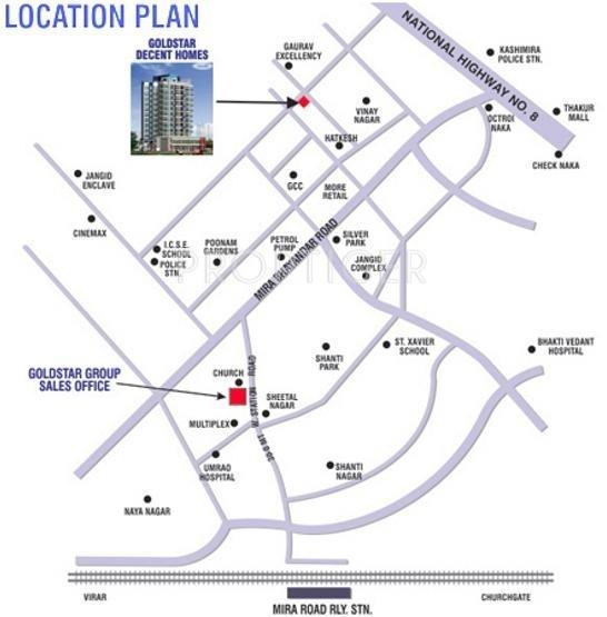 decent-homes Images for Location Plan of Goldstar Decent Homes