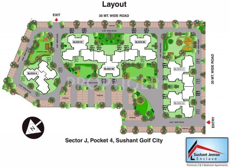 sushant-jeevan-enclave Images for Layout Plan of Ansal Sushant Jeevan Enclave