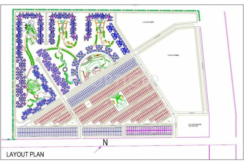 dream-valley Images for Layout Plan of Amrapali Dream Valley