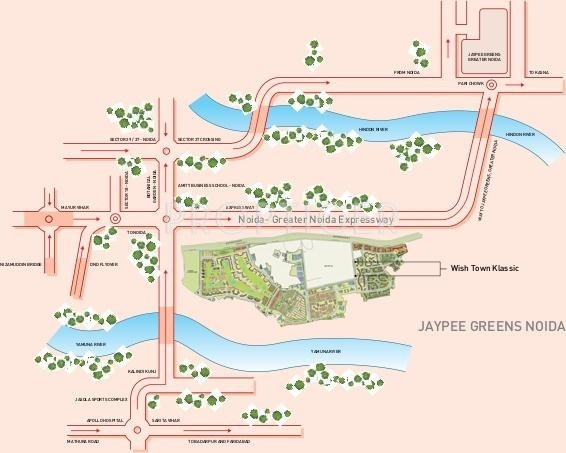klassic-heights Images for Location Plan of Jaypee Klassic Heights