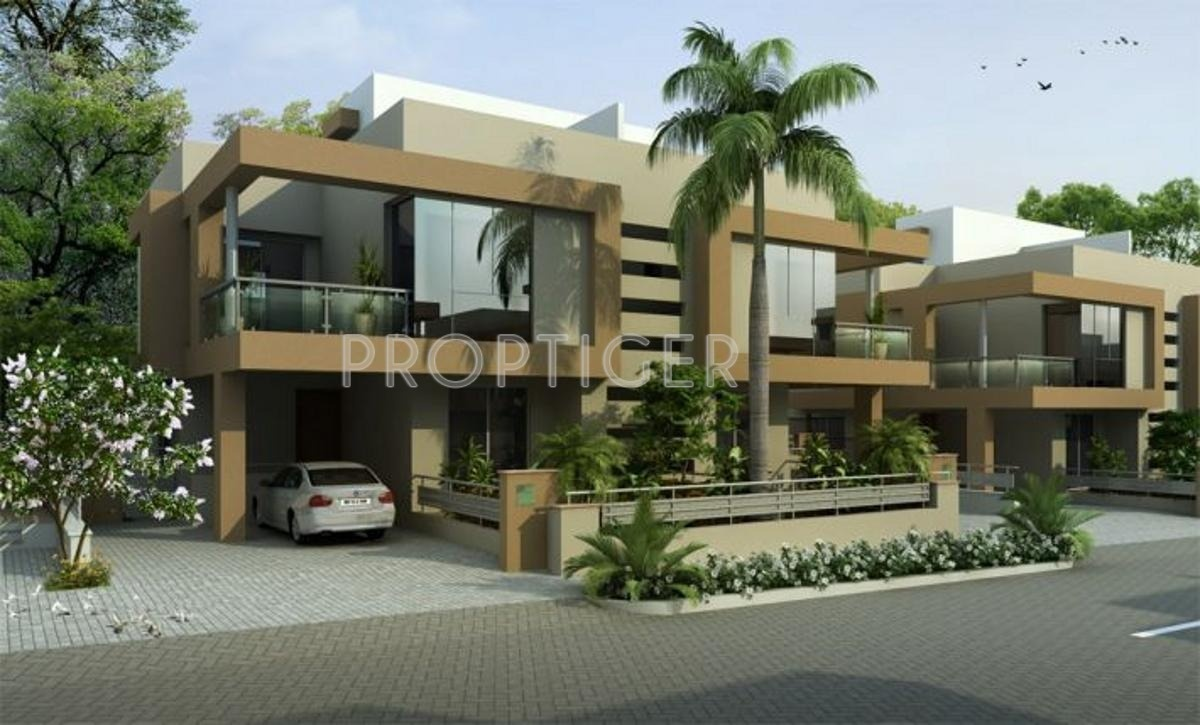 1650 sq ft 4 bhk 5t villa for sale in kolte patil for Twin bungalow plans