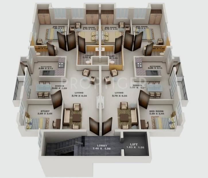 2 3 bhk cluster plan image blue print constructions woodsville images for cluster plan of blue print constructions woodsville apartment malvernweather Images