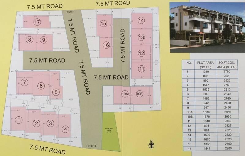 villa Images for Layout Plan of Shreeji Villa