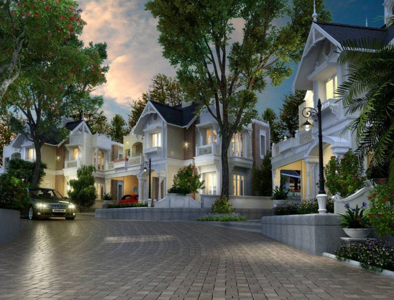 Images for Elevation of Travancore Grand County Neoclassic Villas