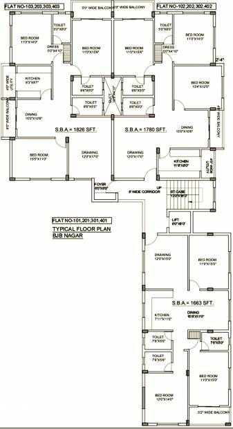 Images for Cluster Plan of Lifestyle Prahalad Residency
