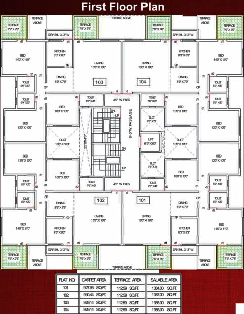 Images for Cluster Plan of Ganesh Royal
