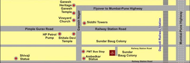 Images for Location Plan of Ganesh Royal