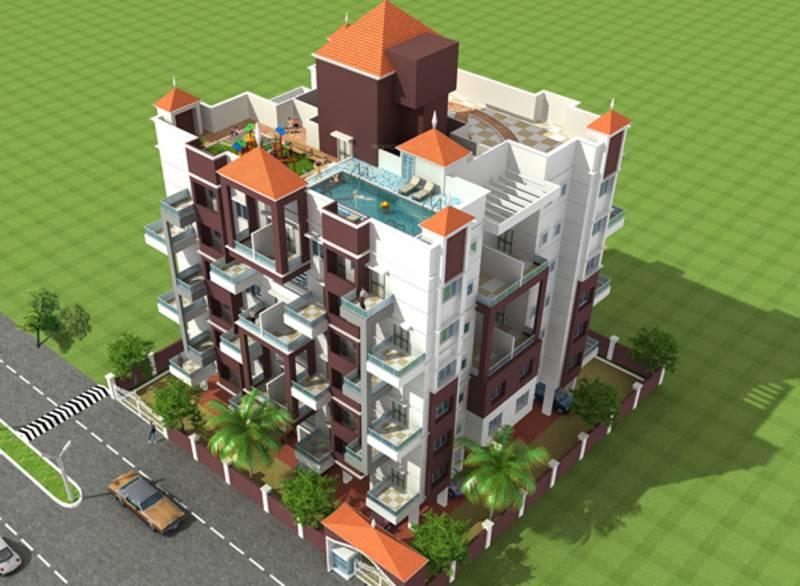Images for Elevation of Ganesh Royal