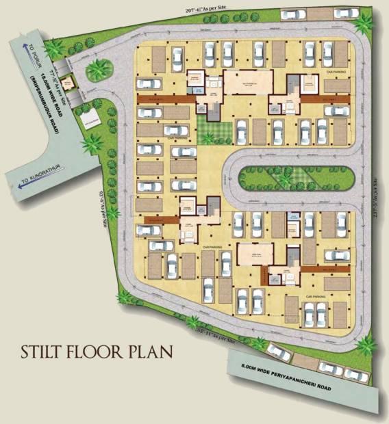 Images for Cluster Plan of Rajkham Emerald