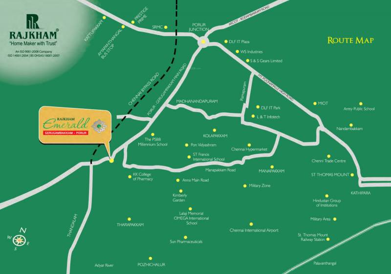 Images for Location Plan of Rajkham Emerald