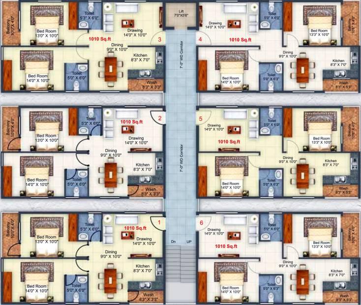 Images for Cluster Plan of KR KR Heights