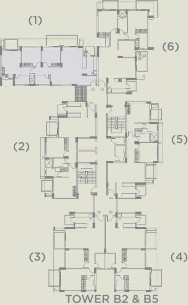 Images for Cluster Plan of TATA La Vida