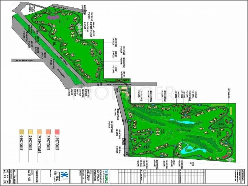 nirwana-greens-4 Images for Layout Plan of Vision Nirwana Greens 4