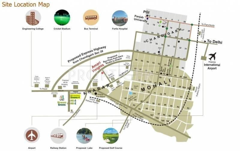nirwana-greens-4 Images for Location Plan of Vision Nirwana Greens 4
