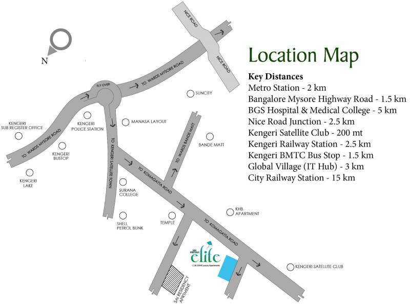 Images for Location Plan of Keystone Sai Prithvi Elite
