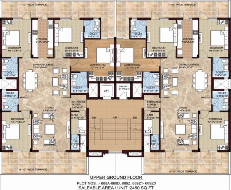 Images for Cluster Plan of Omaxe Celestia Royal