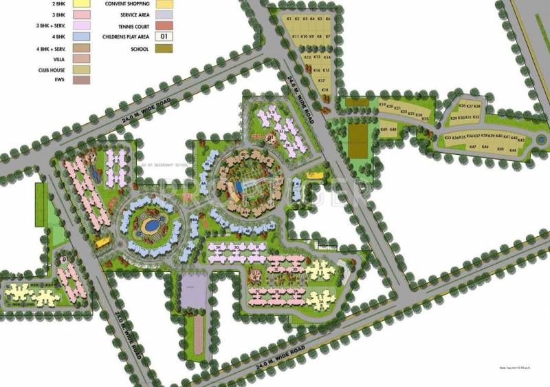 Images for Site Plan of Orris Aster Court