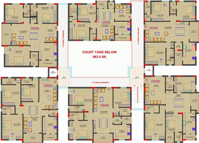 florina Images for Cluster Plan of Aryamitra Florina