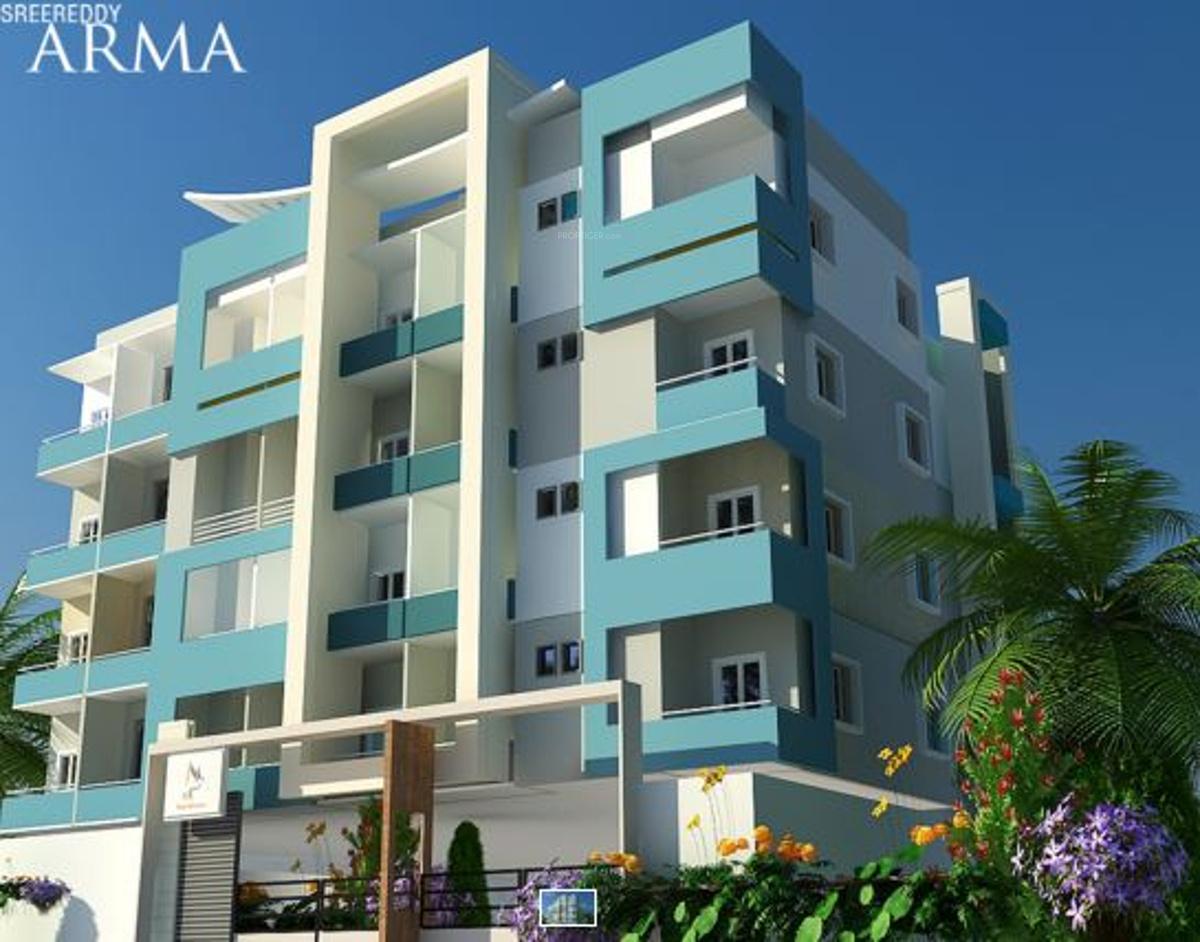 Ground Floor Elevation In Bangalore : Main elevation image of sree reddy properties arma unit