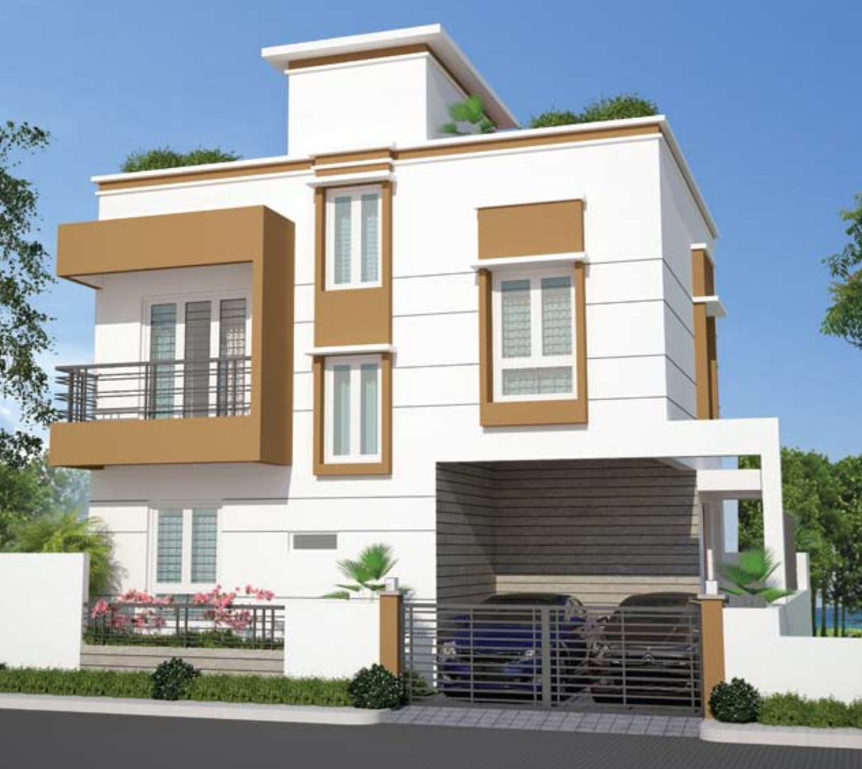 Wood Elevation : Sq ft bhk t villa for sale in my proptree rich