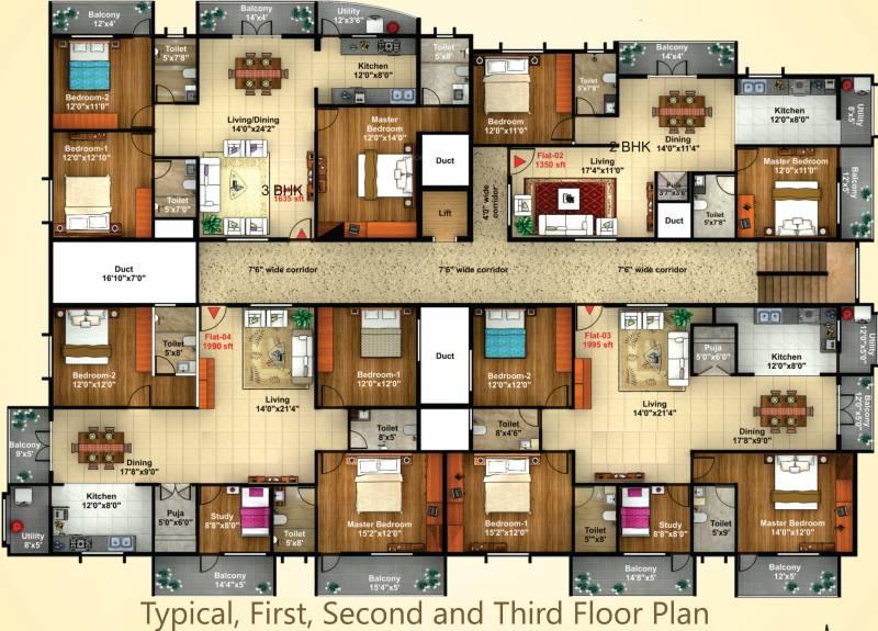 Images for Cluster Plan of Shreedevi Devin Sri Samruddh Paradise