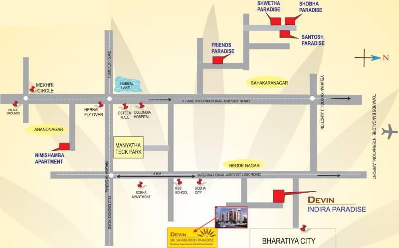 Images for Location Plan of Shreedevi Devin Sri Samruddh Paradise
