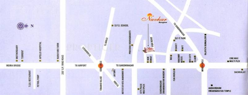 Images for Location Plan of Mahendra Navkar Bunglow