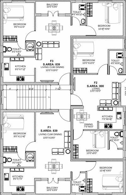 Images for Cluster Plan of SB Anjana