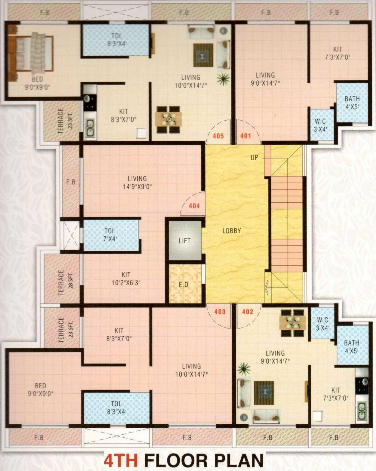 640 sq ft 1 bhk 1t apartment for sale in a r constructions for 640 square feet floor plan