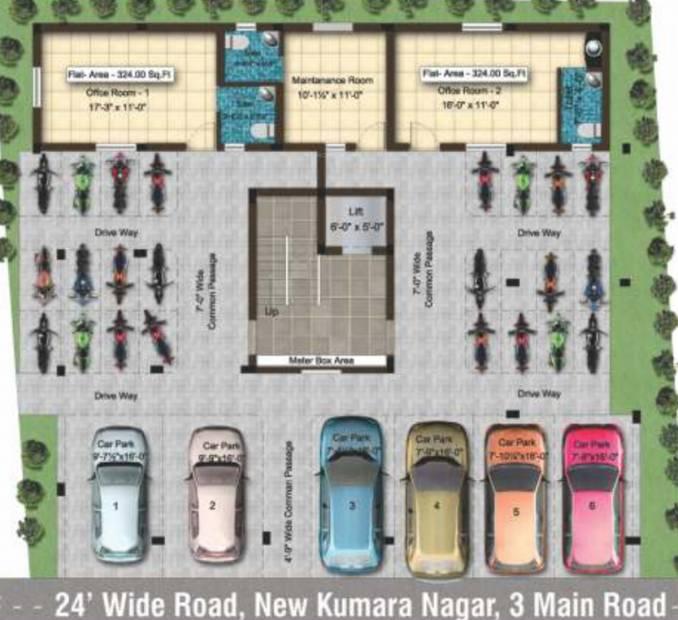 Images for Cluster Plan of Sai Sai Shankara