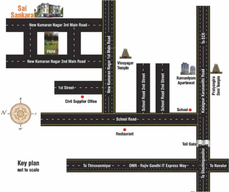 Images for Location Plan of Sai Sai Shankara