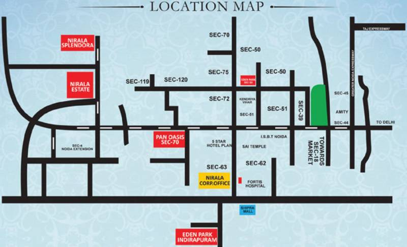 Images for Location Plan of Nirala Estate II