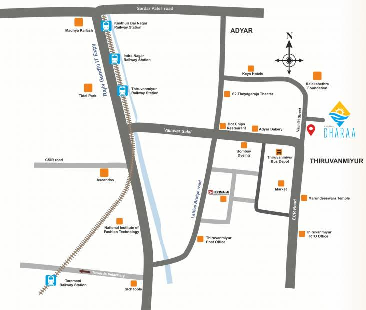 Images for Location Plan of Poomalai Dharaa