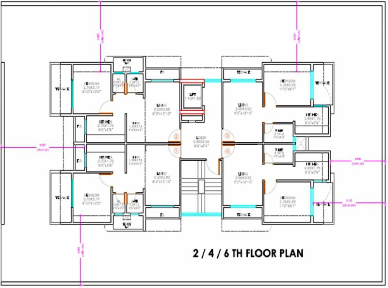Images for Cluster Plan of Vaastu Adarsh