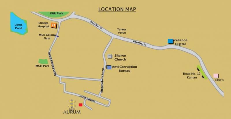 Images for Location Plan of Super Aurum