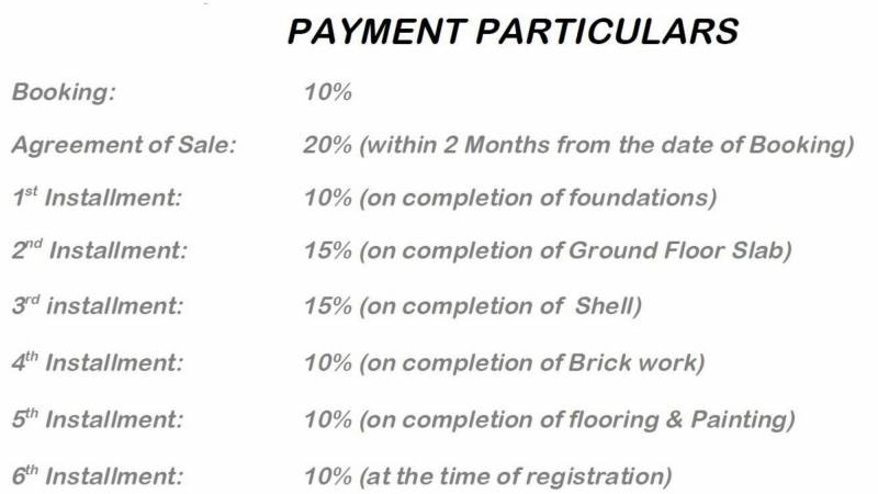 Images for Payment Plan of Jayabheri Temple Tree