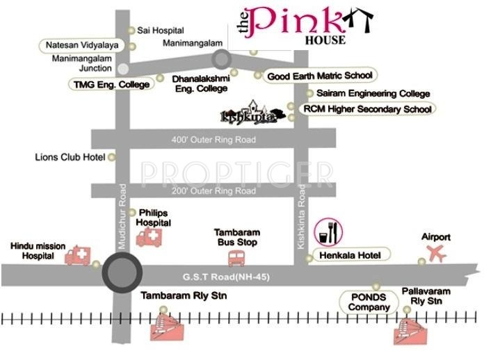 Images for Location Plan of Manju The Pink House