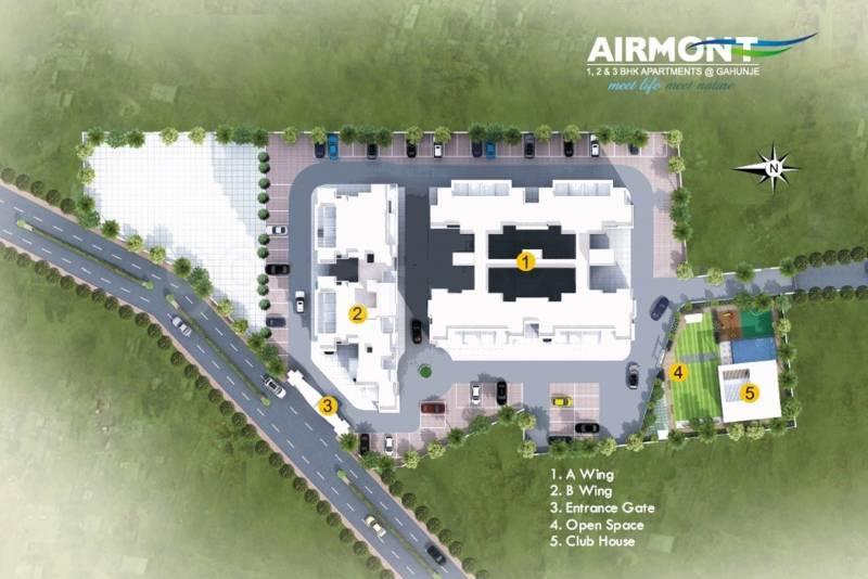 air-mont Images for Site Plan of Pragati Air Mont