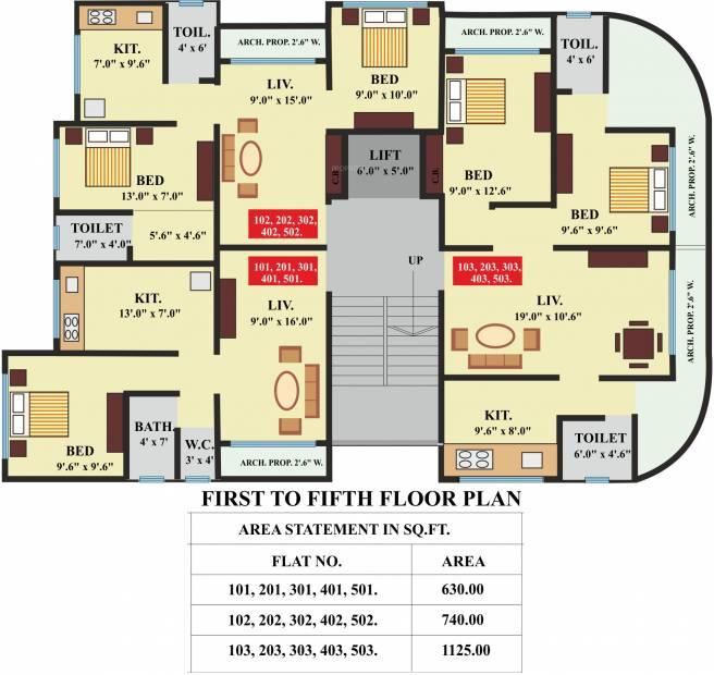 Images for Cluster Plan of Panvelkar Platinum