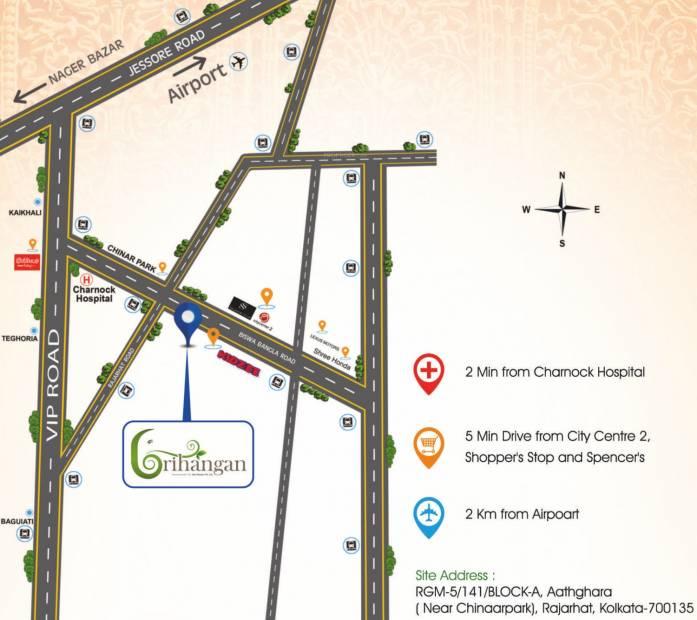 grihangan Images for Location Plan of Star Grihangan