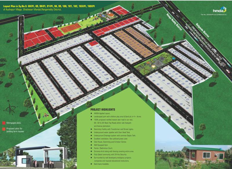 Images for Layout Plan of Sri Sparkle Meadows