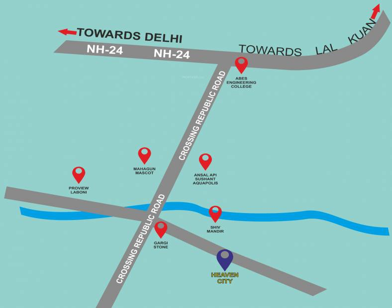 Images for Location Plan of Aarvanss Heaven City Plots