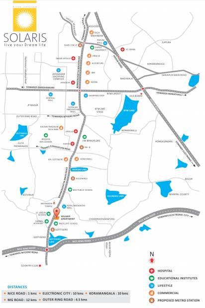 solaris Images for Location Plan of Loharuka Solaris