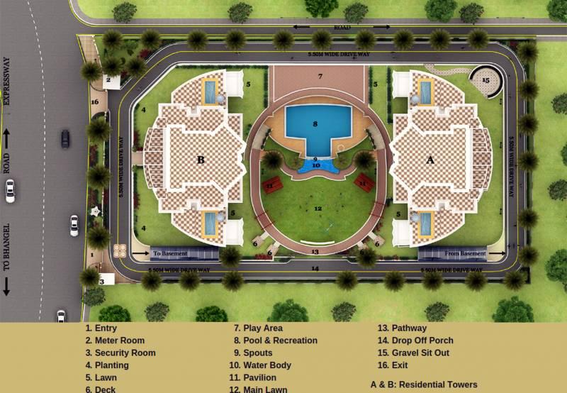 superb Images for Site Plan of BLGC Superb