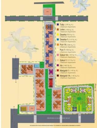gulmohar-garden-phase-2 Master Plan