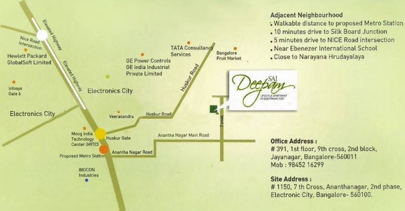Images for Location Plan of Rangashree Sai Deepam