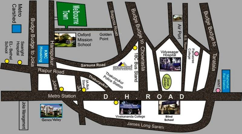 Images for Location Plan of Golden Melbourne Town