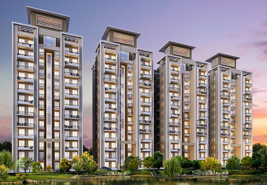 Front Elevation Of House In Gurgaon : Central park aqua front towers in sector sohna gurgaon