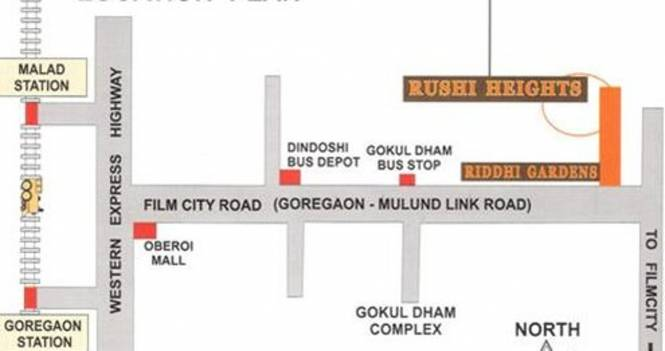 Images for Location Plan of Group Rushi Heights