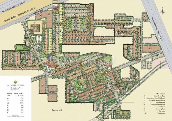 Images for Master Plan of Emaar Emerald Floors